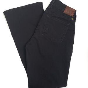 Lucky Brand Sophia Boot Cut Jeans Black Size 10